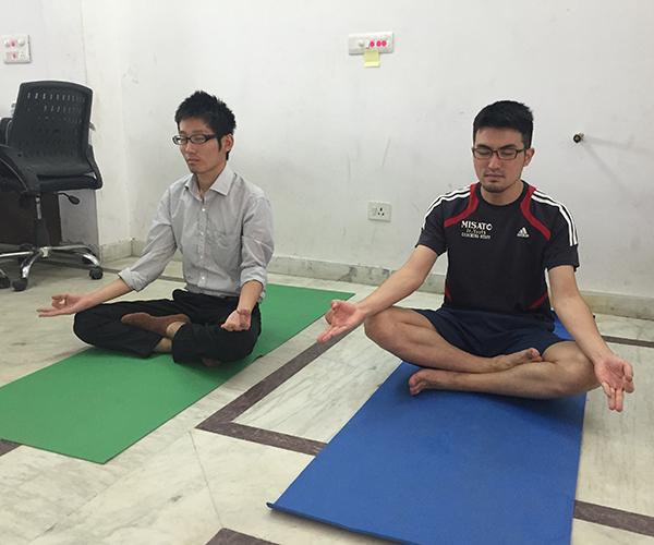 たけるさんわたる瞑想